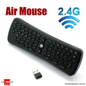 2.4Ghz Wireless Air Mouse Keyboard For Android TV Box, PC, Wii, Wii U, Xbox, PS3, PS4