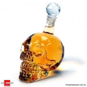 550ml Crystal Skull Head Vodka Whiskey Shot Glass Bottle