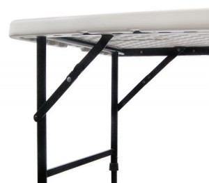 Medium Folding Portable Outdoors Picnic BBQ Table - White