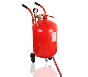 76L/20 Gallon Portable Sandblaster Sand Blaster Pressure Abrasive