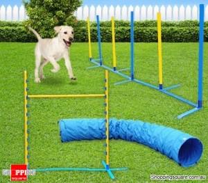 Dog Agility Training 3 Piece Combo Set