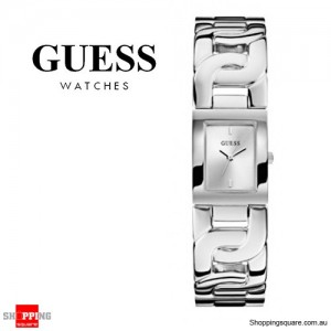 Guess Women's Jewelry Silver Chained Ladies Watch