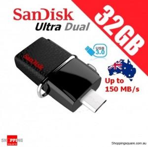 SanDisk 32GB Ultra Dual OTG USB Drive 3.0