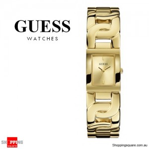 Guess Women's Jewelry Gold Chained Ladies Watch