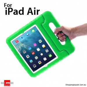 New Kids Shock Proof Thick Foam Cover Case Handle For ipad air Green Colour