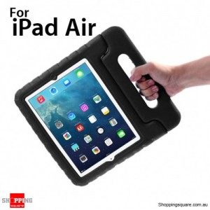 New Kids Shock Proof Thick Foam Cover Case Handle For ipad air Black Colour