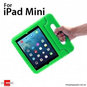 New Kids Shock Proof Thick Foam Cover Case Handle For ipad mini Green Colour