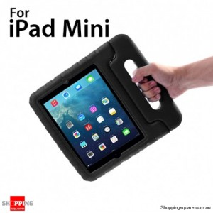 New Kids Shock Proof Thick Foam Cover Case Handle For ipad mini Black Colour