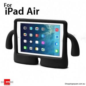 3D Cute Stand Cartoon Kids Shockproof EVA foam Cover Case For ipad air Black Colour