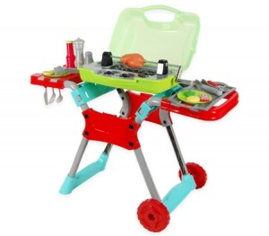 Kids Toy BBQ Play Set with Lights, Sound & Accessories