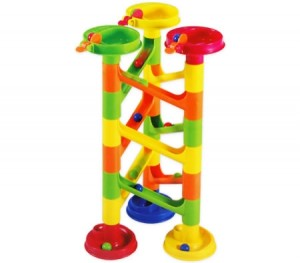 Marble Race / Marble Run Play Set - 30 Pieces