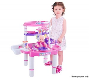 Kids Toy Nursery Play Set with Accessories