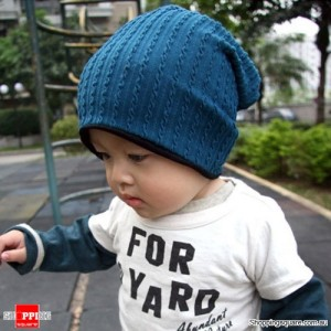 Baby Infant Toddler Beanie Hat Blue Colour