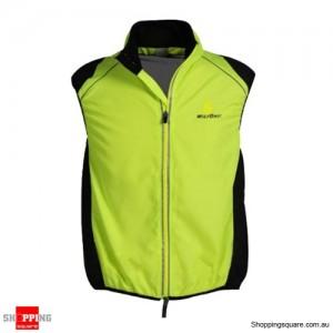 Men or Women Fashion Tour de France Cycling jacket Wind Waistcoat Green Colour Size 16