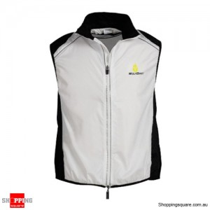 Men or Women Fashion Tour de France Cycling jacket Wind Waistcoat White Colour Size 10