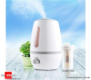 2.3L Ultrasonic Air Humidifier Purifier Steam Aroma Diffuser Mist