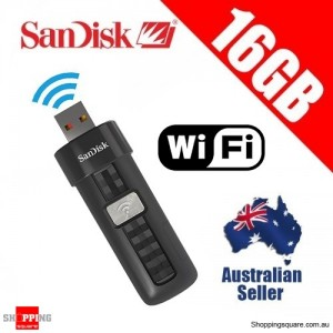 SanDisk Connect 16GB Wireless Flash Drive WiFi