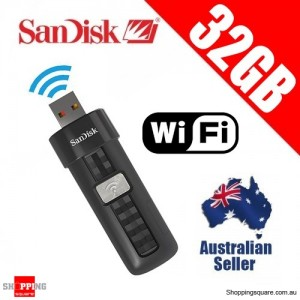 SanDisk Connect 32GB Wireless Flash Drive WiFi