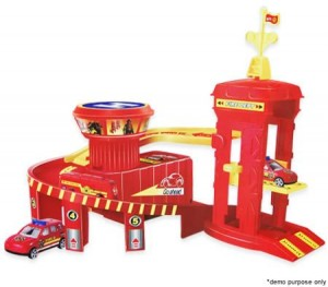 Toy Fire Brigade Set