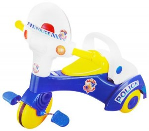 Kids Police Ride-On Trike