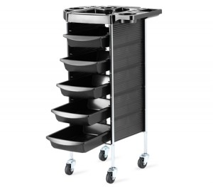 6 Tiers Hairdresser Hair Salon Spa Trolley Beauty Storage Cart