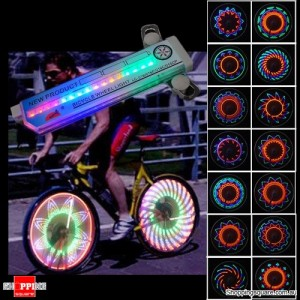 32 LED Colorful Bicycle Wheel Spoke Light