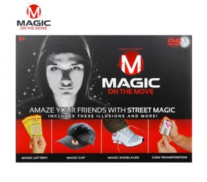 Magic On the Move Street Magic Kit