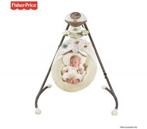 Fisher-Price My Little Snugabunny Cradle N Swing
