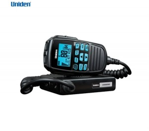 Uniden Compact UHF CB Mobile - 80 Channels w/Remote Speaker Mic & LCD Screen
