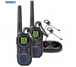 Uniden 80 Channel Compact UHF Handheld Radio - Twin Pack