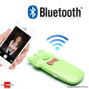 Cute Wireless Bluetooth Remote Control Shutter Release Max 30M Self Photograph for iPhone iPad 2/3/4 Android OS Samsung HTC Sony
