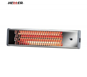Heller 1500W Chrome Strip Heater