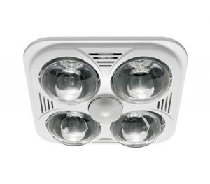 Heller 3-in-1 Essential Bathroom Light/Heater/Exhaust Fan