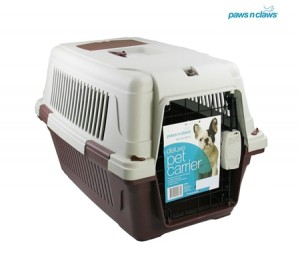 Paws n Claws Medium Deluxe Pet Carrier