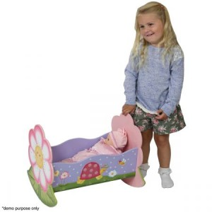 Teamson Magic Garden Dolls Rocking Bed