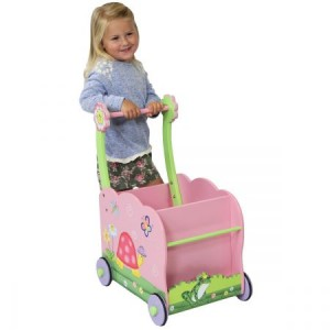 Teamson Magic Garden Push Cart