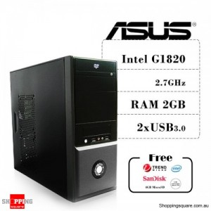 ASUS Celeron G1820 Dual Core Upgrade Tower