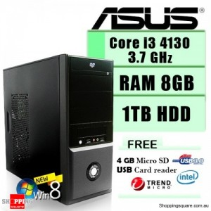 Asus Power PHPC Core I3 3.7Ghz Complete Soho System Desktop PC