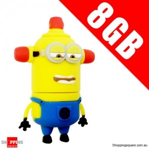 DESPICABLE ME 2 8GB USB 2.0 Flash Memory Stick Card Drive 8 GB NO 7