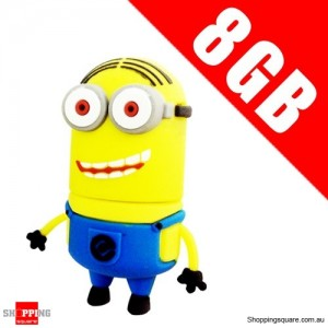 DESPICABLE ME 2 8GB USB 2.0 Flash Memory Stick Card Drive 8 GB NO 4