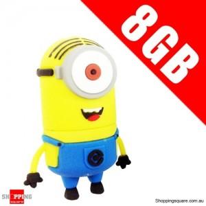 DESPICABLE ME 2 8GB USB 2.0 Flash Memory Stick Card Drive 8 GB NO 3