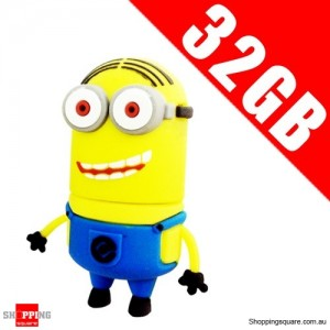 DESPICABLE ME 2 32GB USB 2.0 Flash Memory Stick Card Drive 32 GB NO 4