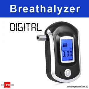 Digital Breath Alcohol Analyzer Tester Breathalyzer test LCD