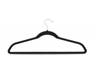 Pack of 50 Non-Slip Velvet Clothes & Coat Hangers