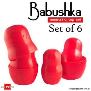 Babushka Measuring Cup Set of 6