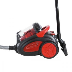 Akitas Pro-2400W Bagless Cyclone Vacuum Cleaner - Black