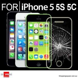 For iPhone SE 5 5S 5C Premium Real Tempered Glass Film Screen Protector