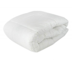 Living At Home Mattress Topper 800GSM with Puff Ball Fill + Cotton Cover - King Single