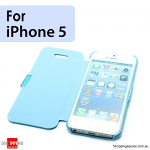 Slim Cover for Apple iPhone SE 5S 5 Blue Colour