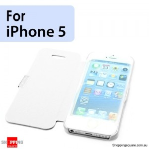 Slim Cover for Apple iPhone SE 5S 5 White Colour